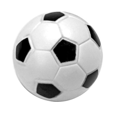 Tournament Soccer Black and White Engraved Foosball-400x400