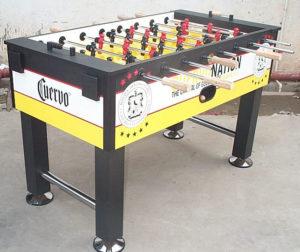 Cuervo custom foosball table
